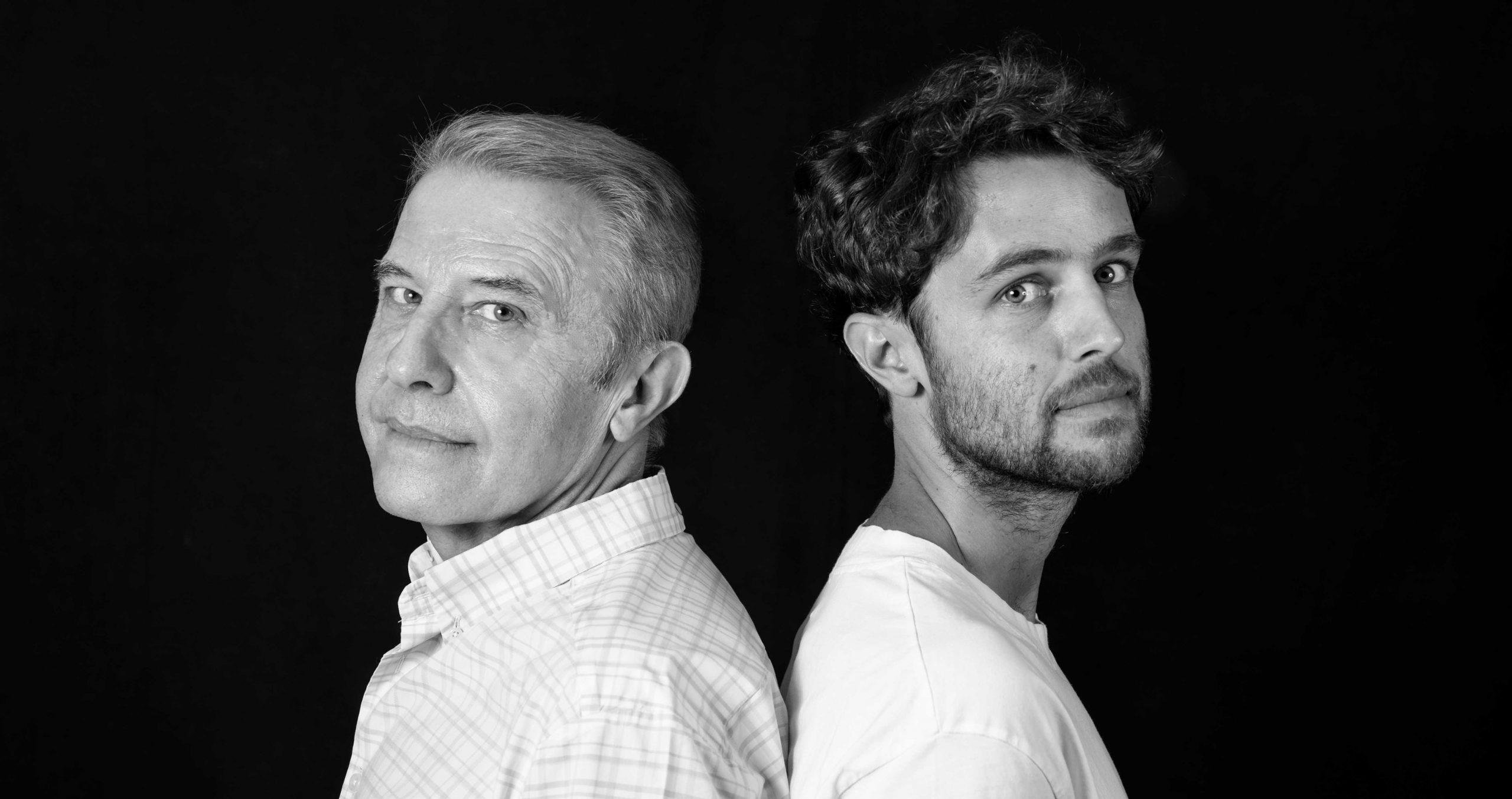 Juan Carlos y Guillermo Cantero